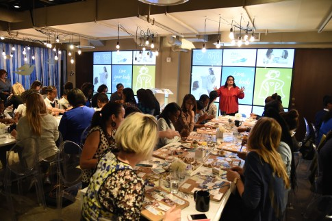 attends Dove Self-Esteem Project Hosts 'Pinspiring' Workshop for Girls To Launch New Pinterest Self-Esteem Page on September 29, 2015 in New York City.