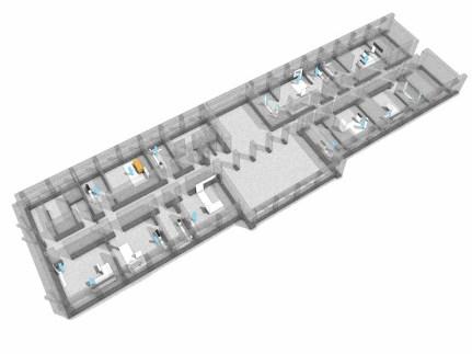 Übersicht 1. Obergeschoss
