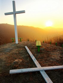 Two Crosses @ Sunset