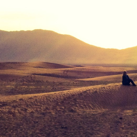 desert sunrise with me
