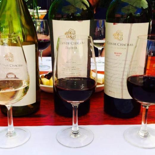 wine tasting Clos de Chacras