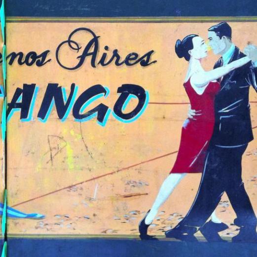 tango sign - Buenos Aires