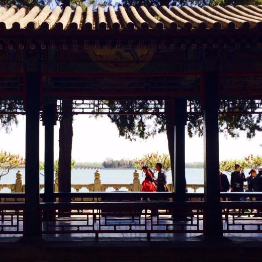 Summer Palace lake view 2