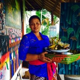 Artist wife Ubud Bali