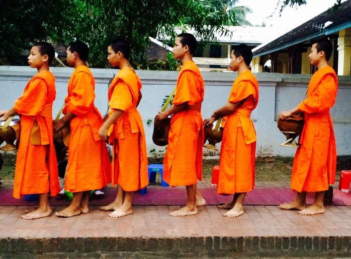 Morning alms - Luang Prabang