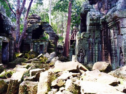 Angkor hidden temple