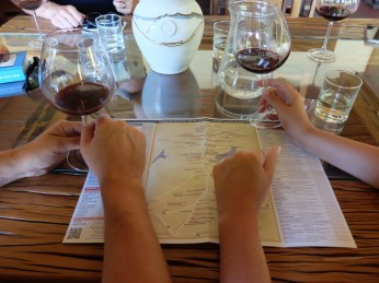 wine tasting in South Africa with Kim Rabe