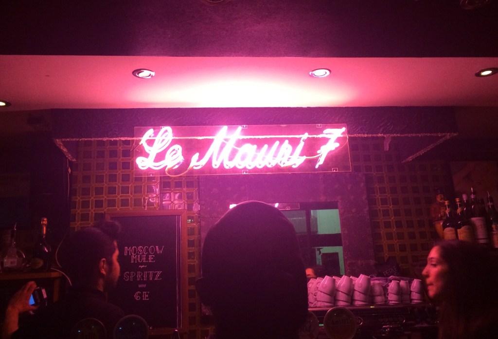 Le Maury 7 bar paris
