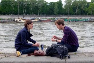 picnicking couple paris