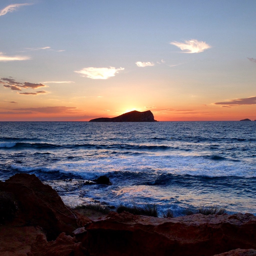 Ibiza sunset at Cala Conta