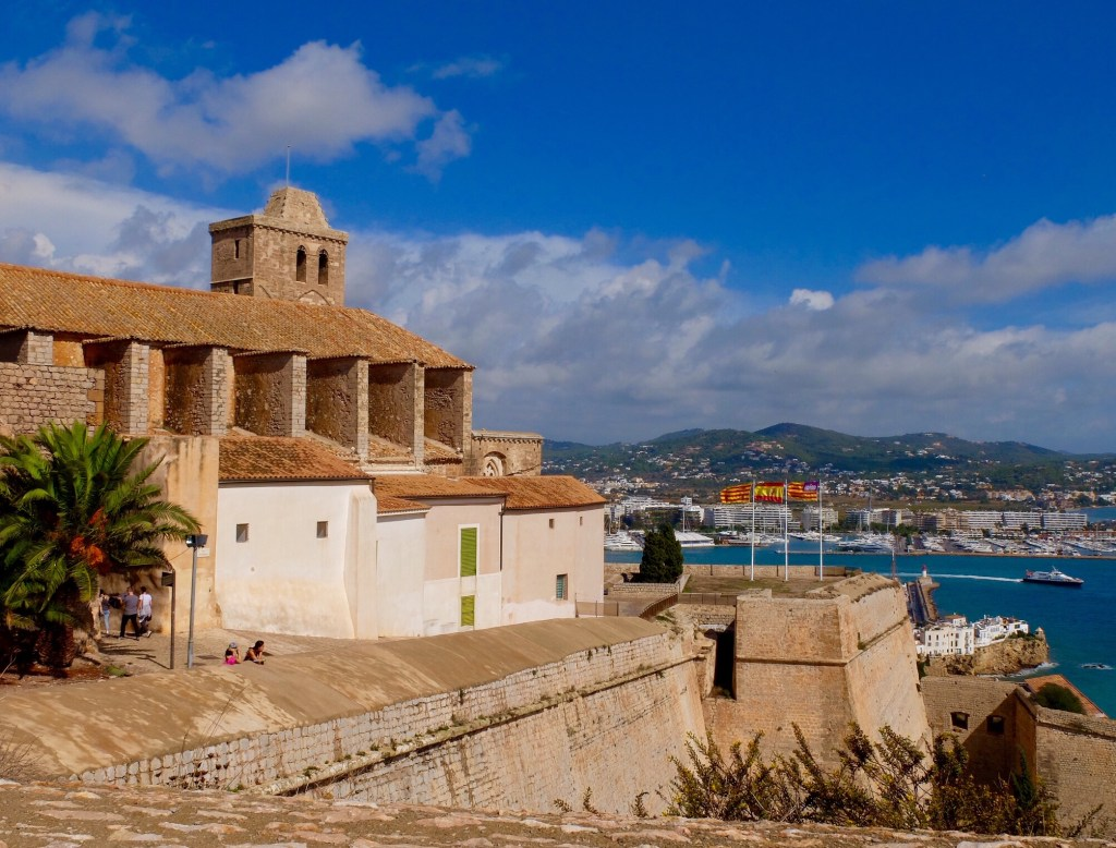 Ibiza Old Town and Cathedral
