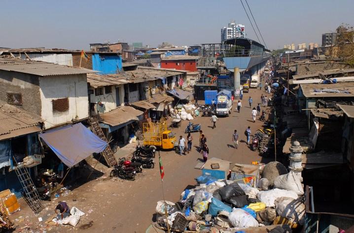 Dharavi Slum overview