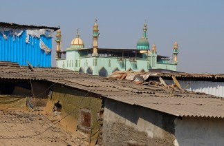 Mosque in Dharavi Slum
