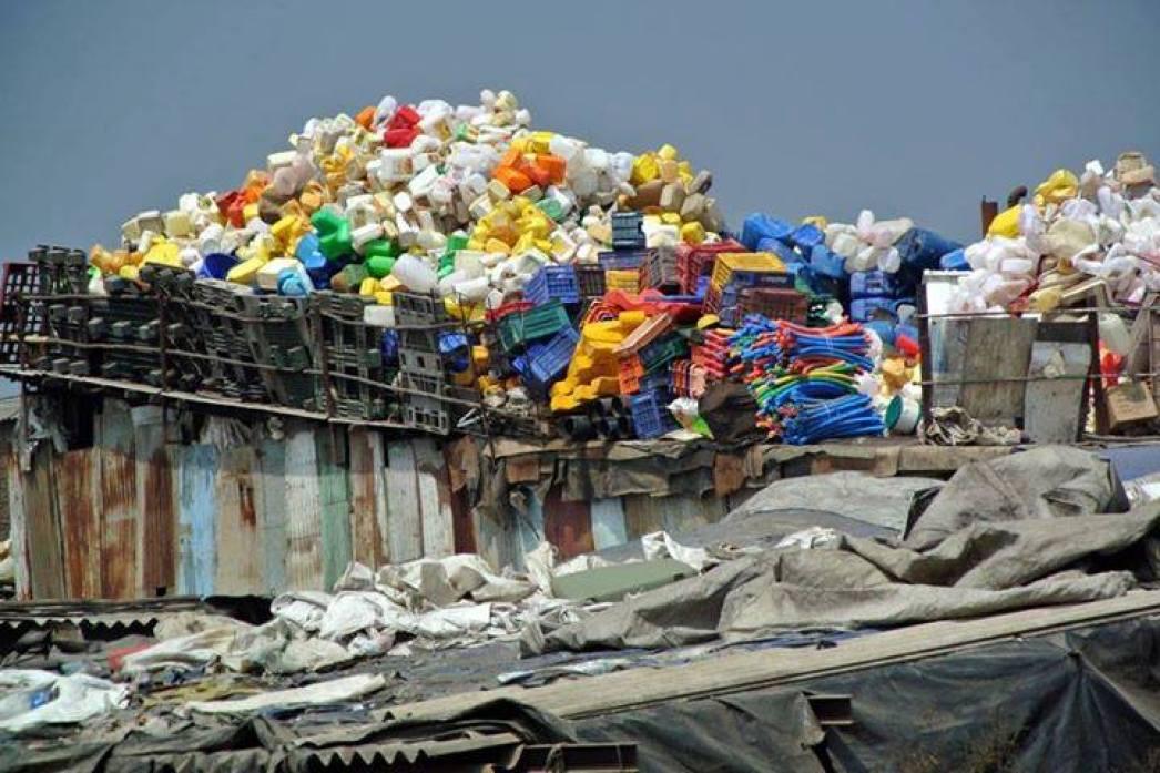Recycling Plastic - Mystical Mumbai
