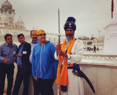 Amritsar traditional sikh