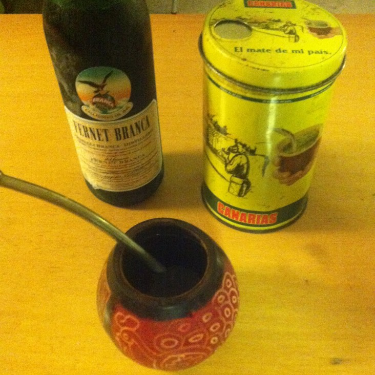 Fernet Branca and Mate