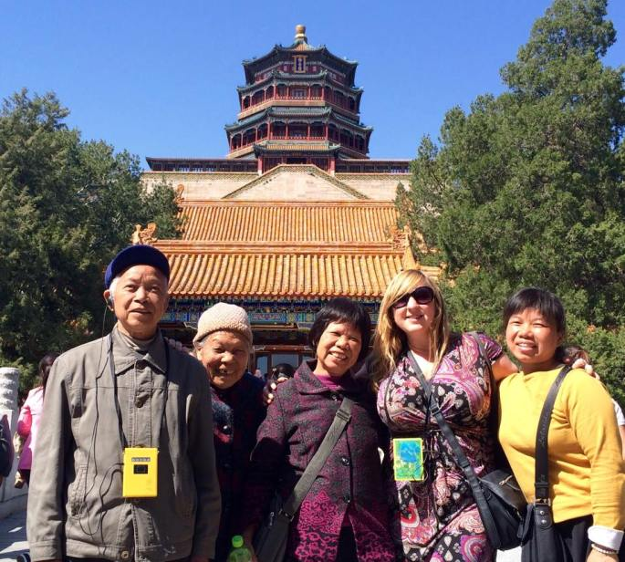 Summer Palace with ne friends