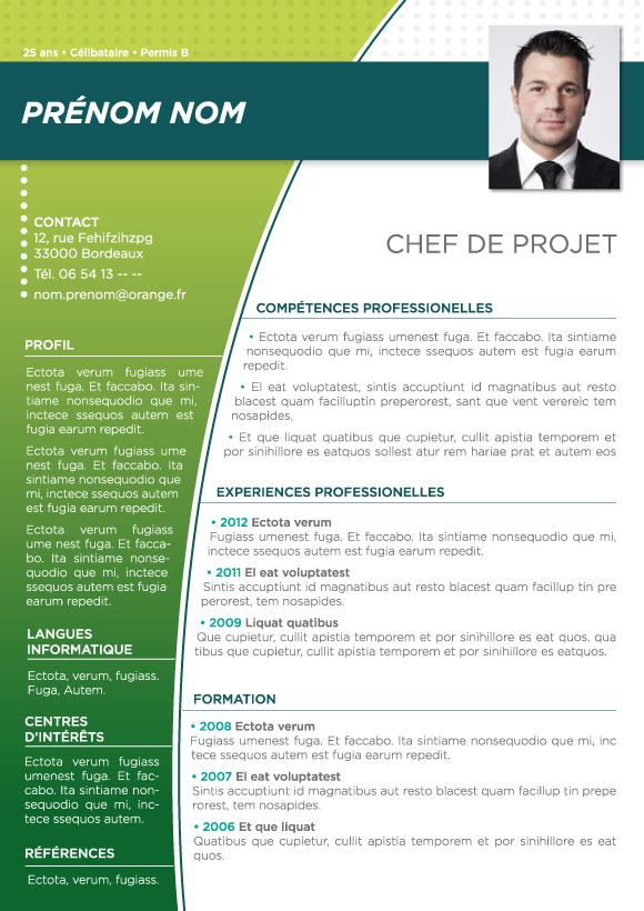 comment faire une cv open office