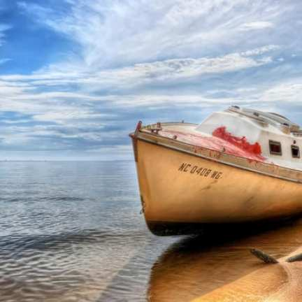 Beached | Abandoned on the Neuse