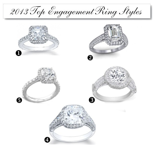 top 5 engagement rings