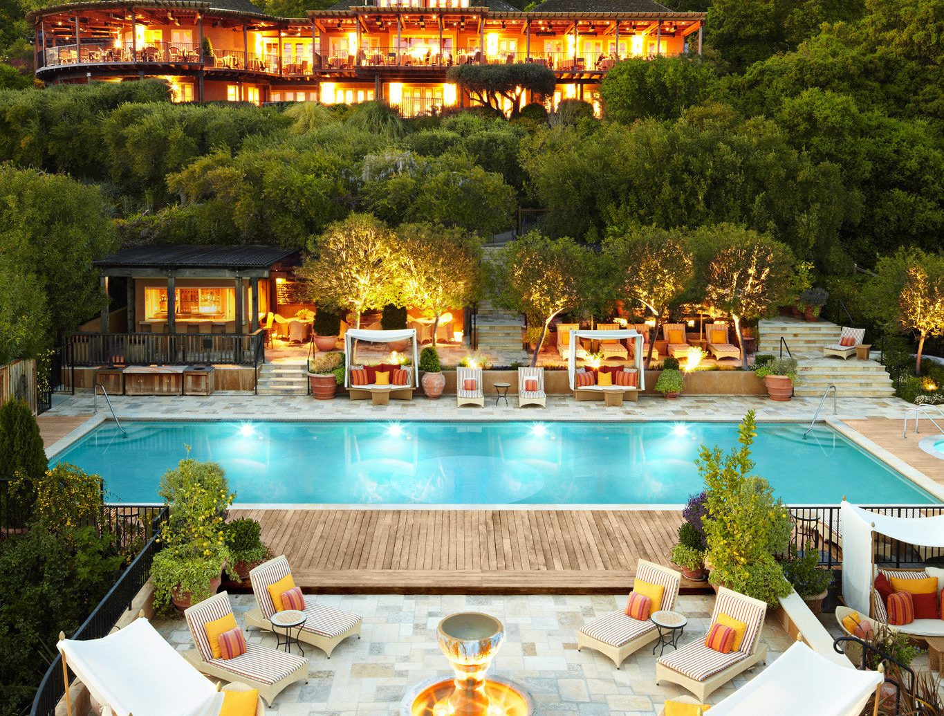 Romantic Pool Ideas The Most Romantic Hotels In The U S Hands Down Jetsetter