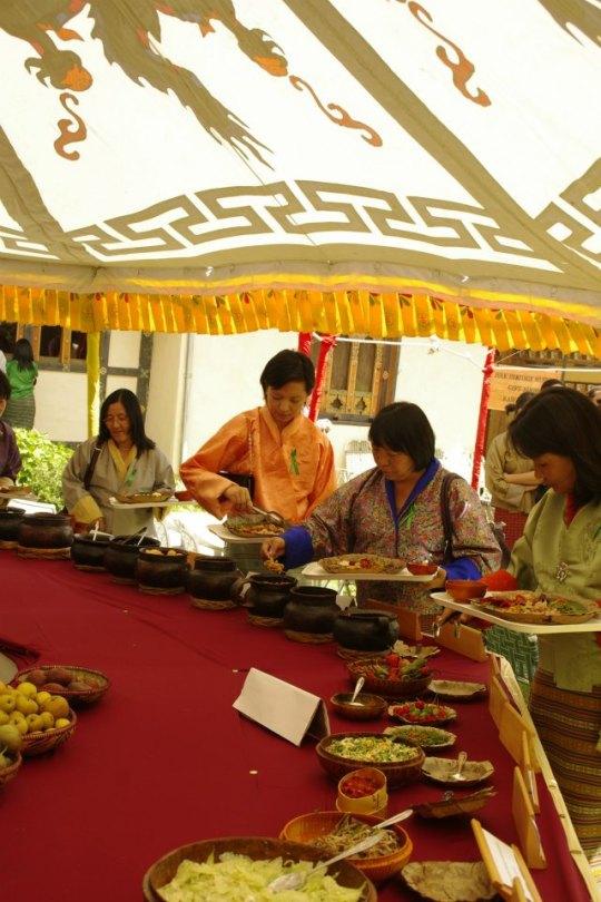 folk heritage restaurant bhutan