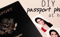 DIY passport photo at home 2