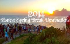 featured spring break destinations