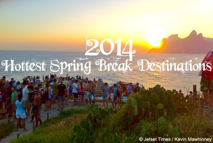 featured spring break destinations
