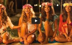 Air New Zealand Sports Illustrated Models vido