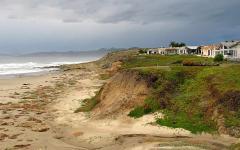 California Wine Coast Country seaside village