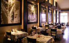 M Grill Los Angeles restaurant interior