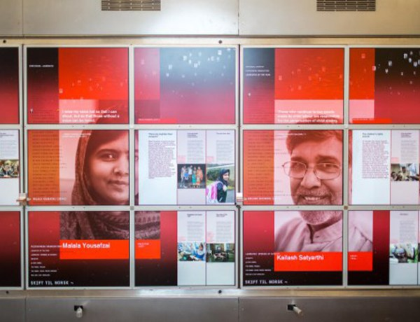3 Malala and Kailash Exhibit 2014