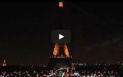 Eiffel Tower Paris dark
