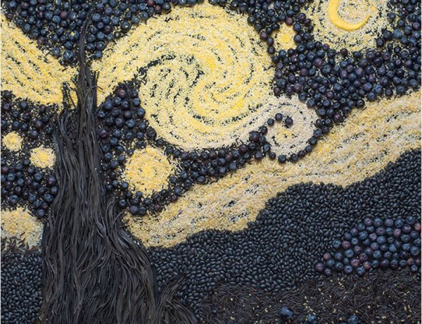 Facebook Tatiana Shkondina food stylist van gogh starry night