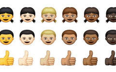 Apple iOS emojis racist