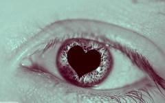 Flickr Ben Mortimer heart shaped eye