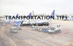 featured transportation tips buenos aires