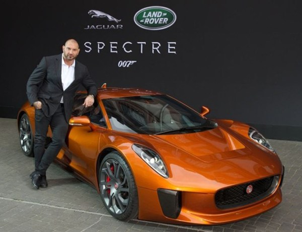 James Bond cars Jaguar David Bautista