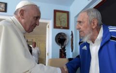 Pope Francis Cuba Fidel Castro