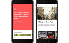 Airbnb Live There campaign app