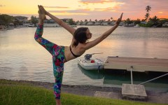 Alex Oahu fitness yoga