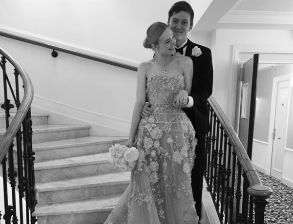 Elle Fanning Prom Cannes