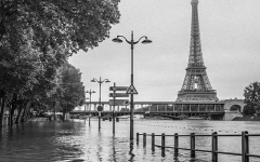 Eiffel Tower flood