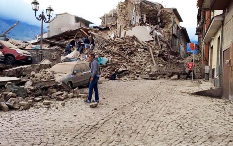 Earthquake Hits Italy