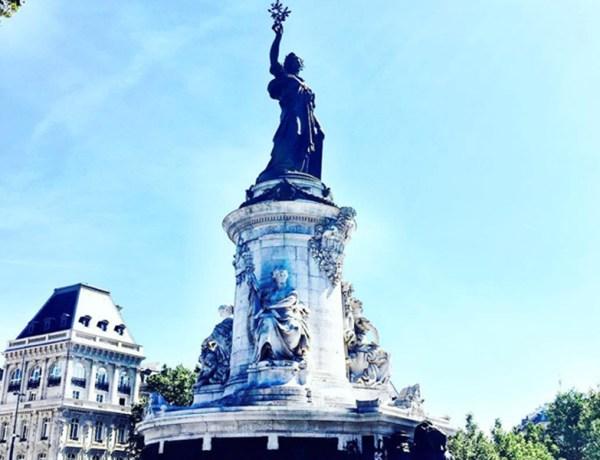 Place de la Republique Paris France tourism