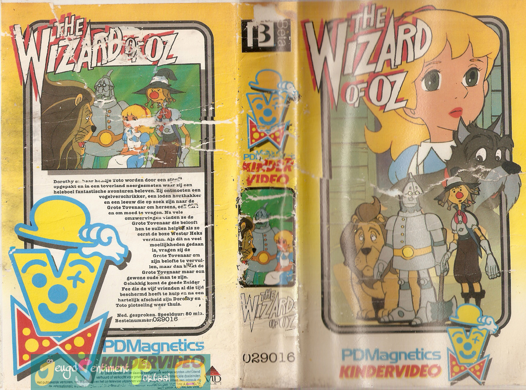 Wizard of oz 1982 cartoons cc old the wizard of oz 1982 cartoons anime