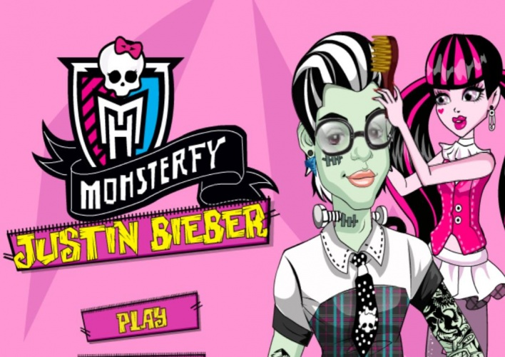 Decoration Mariage Americain Transformation De Bieber En Monster High Sur Jeux Fille