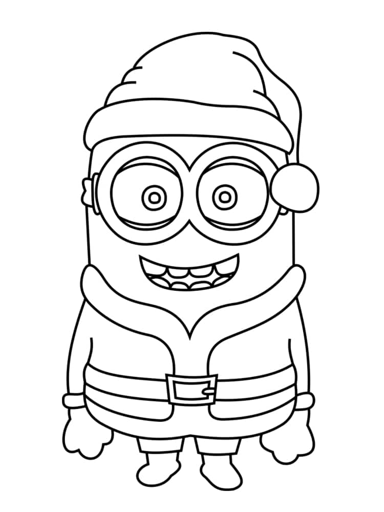 Theme De Decoration Pour Creche Coloriage Minion Noel | Exactjuristen