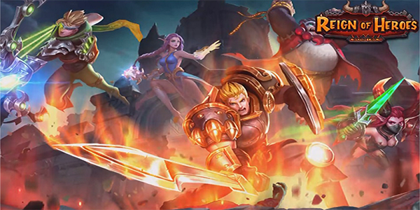 Reign of Heroes Triche Astuce Or,Gemmes,Viande